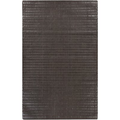 Letizia Grey Area Rug Rug Size: Rectangle 5 x 8