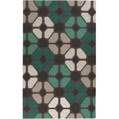 Donley Gray Charcoal Plaid Area Rug Rug Size: Rectangle 2 x 3