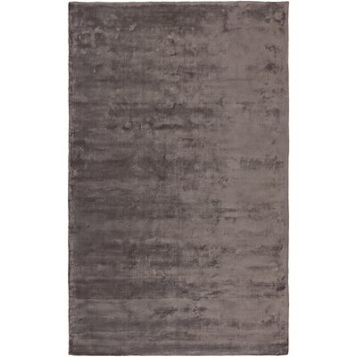 Luigi Chocolate Area Rug Rug Size: 5 x 8