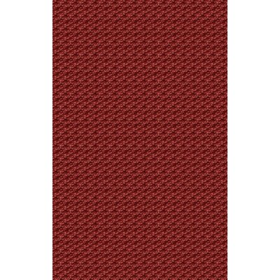 Harmon Burgundy Area Rug Rug Size: Rectangle 2 x 3