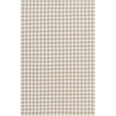 Bush Creek Gray/Light Gray Area Rug Rug Size: 8 x 11