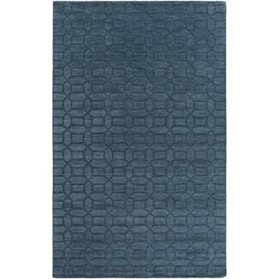Grange Hand-Woven Teal Area Rug Rug Size: Rectangle 2 x 3