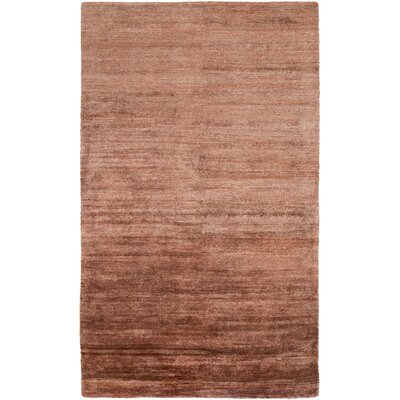 Theodore Burgundy Area Rug Rug Size: Rectangle 5 x 8