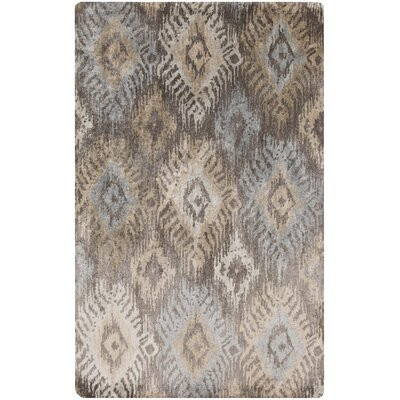 Alisha Silk Ikat Area Rug Rug Size: Rectangle 5 x 8