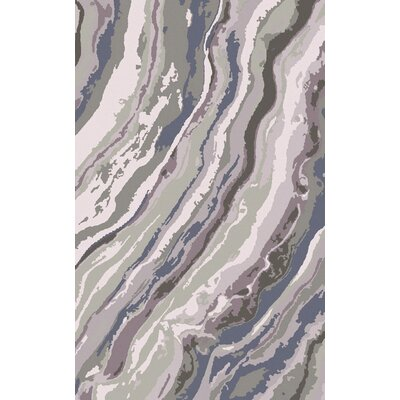 Scylla Multi-Colored Modern Rug Rug Size: 8 x 11