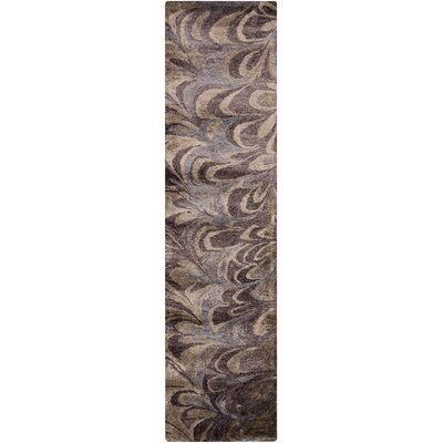 Scylla Multi-Colored Rug Rug Size: Runner 26 x 8