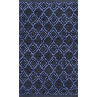 Todd Cobalt/Navy Area Rug Rug Size: Rectangle 8 x 11