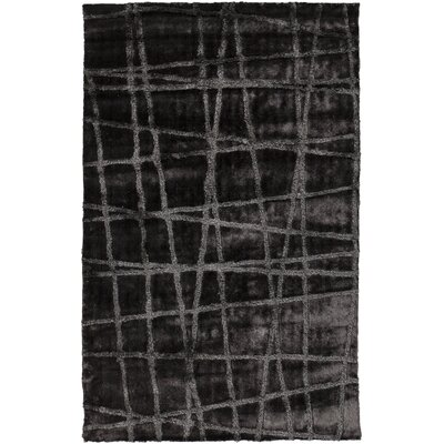 Halterman Pewter/Gray Geometric Area Rug Rug Size: 8 x 11