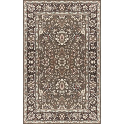 Vickers Hand-Tufted Taupe Area Rug Rug Size: Rectangle 9 x 13