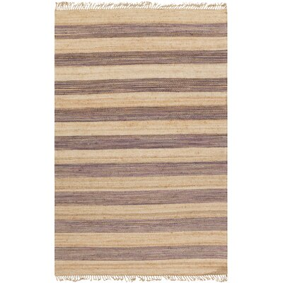 Julia Beige/Charcoal Area Rug Rug Size: Rectangle 8 x 11