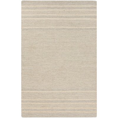 Brewington Butter/Gray Area Rug Rug Size: Rectangle 33 x 53