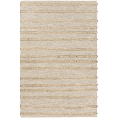 Brewington Gold/Light Gray Area Rug Rug Size: 5 x 8