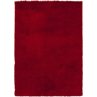 Braun Strawberry Red Area Rug Rug Size: 9 x 13
