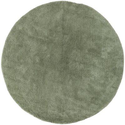 Braun Malachite Green Area Rug Rug Size: Round 8