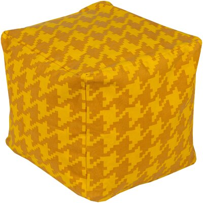 Playhouse Pouf Ottoman Upholstery: Sunflower/Burnt Orange PHPF007-181818