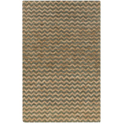 Rothenberg Mocha/Olive Area Rug Rug Size: Rectangle 5 x 8