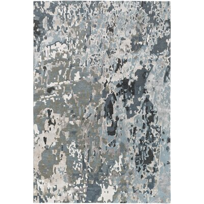 Bovill Gray Area Rug Rug Size: Rectangle 5 x 76
