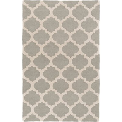 Quaker Beige Geometric Area Rug Rug Size: Rectangle 33 x 53