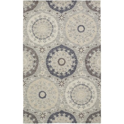 Quaker Moss Ikat/Suzani Area Rug Rug Size: Rectangle 2 x 3