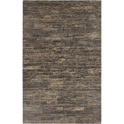 Horton Taupe Area Rug Rug Size: Rectangle 5 x 8