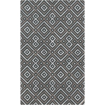 Sudbury Handmade Gray Area Rug Rug Size: Rectangle 5 x 8
