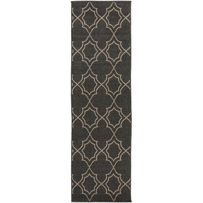 Amato Taupe Indoor/Outdoor Area Rug Rug Size: Runner 23 x 79