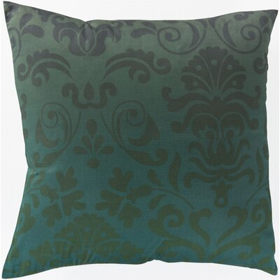 Cotton Throw Pillow Size: 22 H x 22 W x 4 D, Filler: Polyester