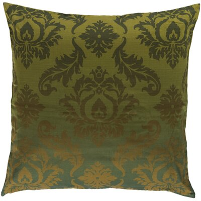 Cotton Throw Pillow Size: 18 H x 18 W, Filler: Polyester