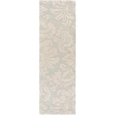 Athena Light Gray/Slate Area Rug Rug Size: 10 x 14