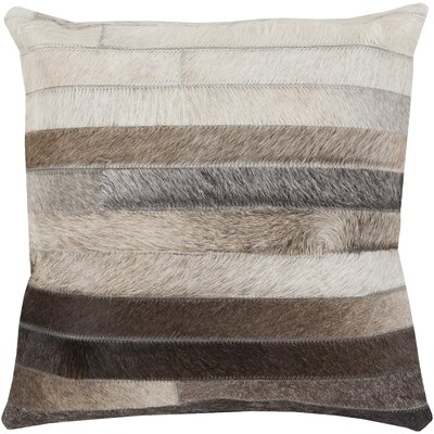 Warren Cotton Throw Pillow I Size: 18 H x 18 W x 4 D, Filler: Down