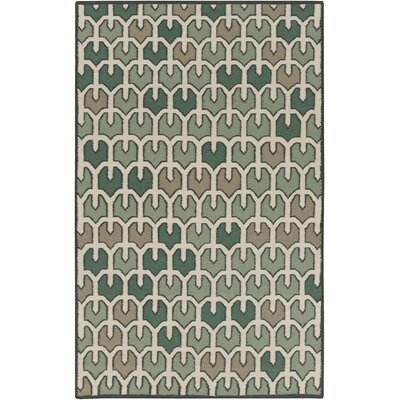 Criss Forest Geometric Area Rug Rug Size: Rectangle 5 x 8