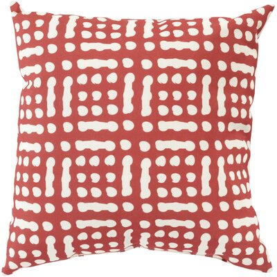 Throw Pillow Size: 20 H x 20 W x 5 D, Color: Charcoal, Filler: Polyester