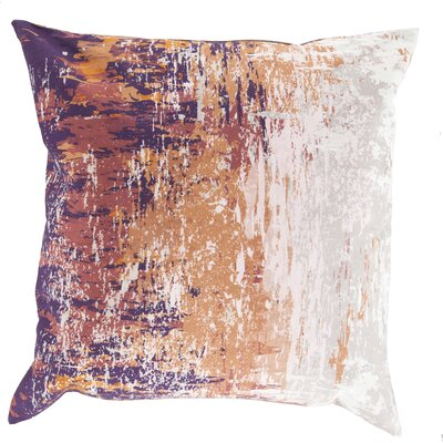 Congdon Cotton Throw Pillow Size: 22 H x 22 W x 4 D, Color: Tan, Filler: Down