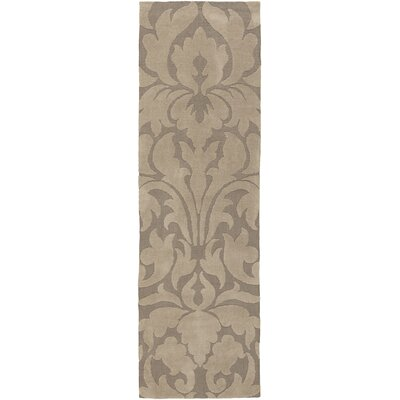 Maci Brown Area Rug Rug Size: Runner 26 x 8