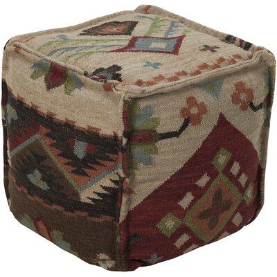 Mars Hill Wool Cube Ottoman