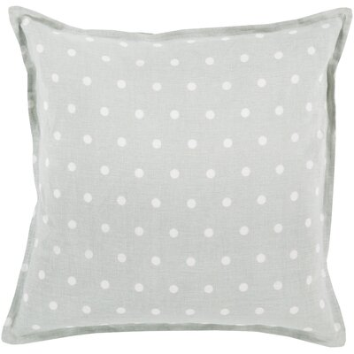 Kylie Linen Throw Pillow Size: 22 H x 22 W x 4 D, Color: Slate