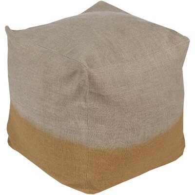 Richards Pouf Upholstery: Gold