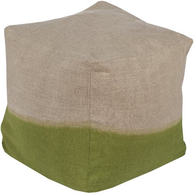 Richards Pouf Ottoman Upholstery: Lime