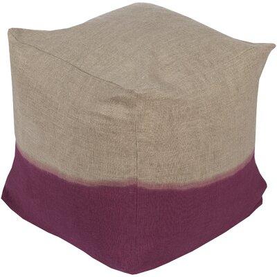 Richards Pouf Ottoman Upholstery: Magenta