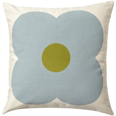 Throw Pillow Color: Moss / Lime, Filler: Down