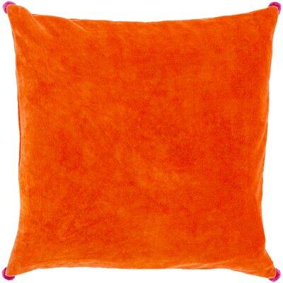 Armina Throw Pillow Color: Hot Pink, Filler: Polyester