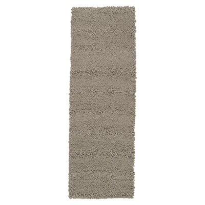 Bonney Gray Area Rug Rug Size: Runner 26 x 8