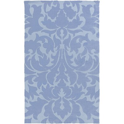 Greenport Sky Blue Area Rug Rug Size: Rectangle 5 x 8