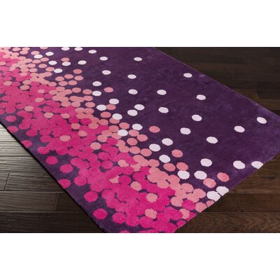 Clive Purple/Pink Area Rug Rug Size: Rectangle 2 x 3
