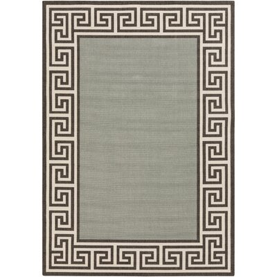 Pearce Moss/Green Indoor/Outdoor Area Rug Rug Size: 36 x 56