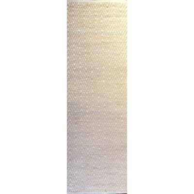 Judy Ivory Area Rug Rug Size: Runner 26 x 8