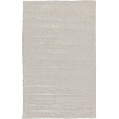 Luigi Light Gray Area Rug Rug Size: Rectangle 4 x 6