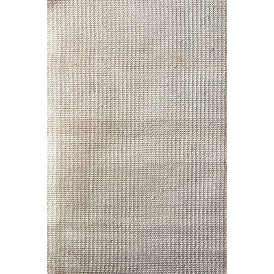 Lazzaro Light Gray Area Rug Rug Size: Rectangle 5 x 76