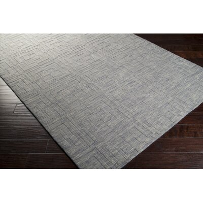 Grange Hand-Woven Gray Area Rug Rug Size: 2 x 3