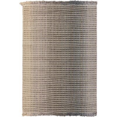 Rhiannon Hand-Woven Beige Area Rug Rug Size: Rectangle 5 x 8